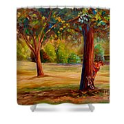 Westmount Park Montreal Shower Curtain