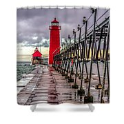 Wet At Grand Haven Shower Curtain
