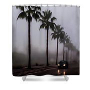 Wet Journey Home Shower Curtain