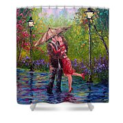 Wet Kiss Shower Curtain