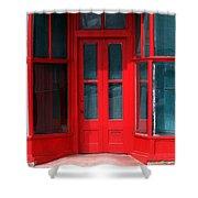 Wet Paint Shower Curtain