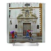 Wet People Door Cadiz Shower Curtain