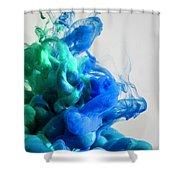 Wet Smoke  Shower Curtain