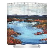 Wetlands Of Washington Shower Curtain