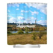 Weyerhaeuser Lumber Mill Shower Curtain
