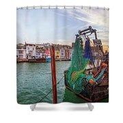 Weymouth - England Shower Curtain