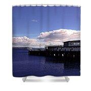 Weymouth Pier Shower Curtain