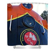 Wgn  423 #1 Shower Curtain