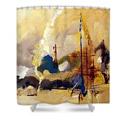 Wharf Shower Curtain
