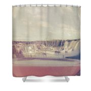 Wharfed Perspective Shower Curtain