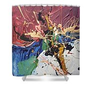 Wharlwind  Shower Curtain