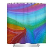 What A Colorful World Shower Curtain
