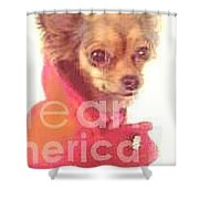 What Big Eyes You Have Shower Curtain