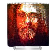 What Did Jesus Look Like Shower Curtain
