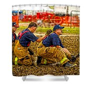 What Fire Shower Curtain