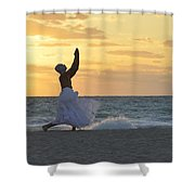 What Saves Our Life Shower Curtain