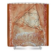 What Time Is It In Emeralda? Shower Curtain