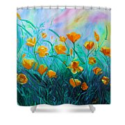 What'a Up Buttercup? Shower Curtain