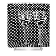 What's In My Drink? Shower Curtain