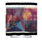 What's On The Artists Mind II Shower Curtain