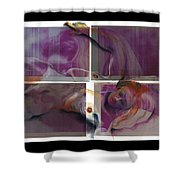 What's On The Artists Mind IIi Shower Curtain