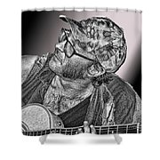 What's That Noise? Shower Curtain