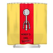What's The Scoop Shower Curtain