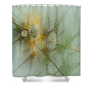 Wheat Design Shower Curtain