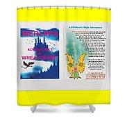 Wheat-shire Theme Park Shower Curtain