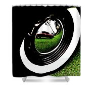 Wheel Art 2 Shower Curtain