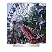 Wheel At The Fair Shower Curtain