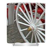 Wheel Motion Shower Curtain
