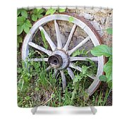 Wheel Walk Shower Curtain