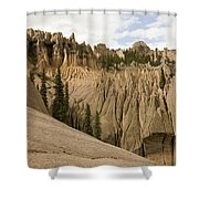 Wheeler Geological Area Is A Unique Shower Curtain
