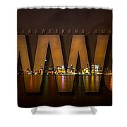 Wheelers Weekend Jams-live And Direct Shower Curtain
