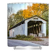 Wheeling Covered Bridge Shower Curtain
