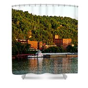 Wheeling Island Shower Curtain