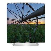 Wheels On Sound Shower Curtain