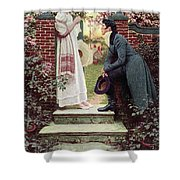 When All The World Seemed Young Shower Curtain
