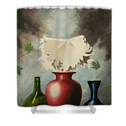 When Evening Falls Shower Curtain