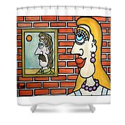 When I Come Back, Would You Marry Me? - A Mon Retour, Voulez-vous Me Marier? Shower Curtain