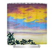 When I'm Gone Shower Curtain