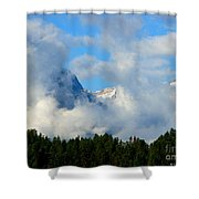 When Im Gone Shower Curtain