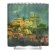 When In Rome 52 - Lasting Impression Shower Curtain