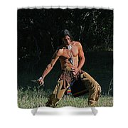 When The Fight Comes Shower Curtain