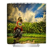 When The Sun Comes After Rain Shower Curtain