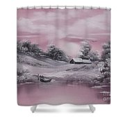 When Winter Comes Early Sold Shower Curtain by Cynthia Adams