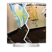 When You Are Smiling  Shower Curtain