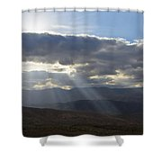 When Your Light Shines Shower Curtain