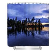 Where Are The Ducks? Shower Curtain